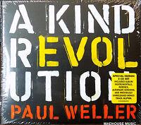 PAUL WELLER CD x 3 A Kind Revolution DELUXE Triple CD Album NEW 2017