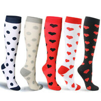 Health Compression Socks Athletic & Medical for Men & Women Running Travels