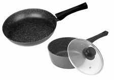 STONEWELL 24cm Frypan and 16cm Saucepan Set with lid