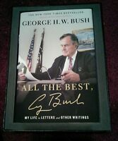 Signed President George H.W. Bush All The Best numbered + collectors box + COA