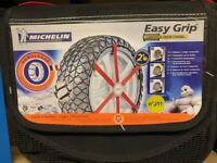 MICHELIN Easy Grip Snow Chains - Size J11 - New, Unused, Very Good Condition