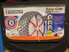 Snow Chains Michelin Easy Grip Textile Snowchains J11 ABS ESP Compatible 92302