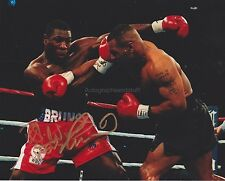 Frank Bruno HAND SIGNED 8x10 Photo, WBC Heavyweight Champion, Boxer, Boxing B