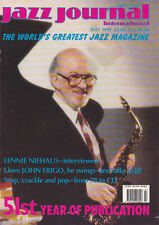 JAZZ JOURNAL MAGAZINE 1998 JUL LENNIE NIEHAUS, JOHN FRIGO, MOSAIC RECORDINGS