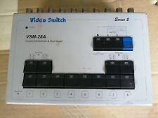 Video Switch Ltd. VSM-28A Duplex Multiplexer & Dual Quad.