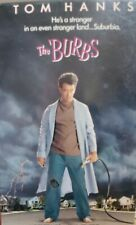 THE BURBS (VHS 1996) Comedy 1989 Classic 1hr 41min [Rated PG] Tom Hanks