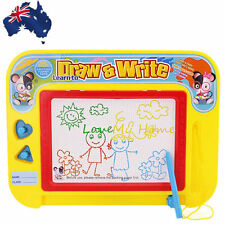 Polychrome Magnetic Drawing Board Sketch Pad Doodle Writing Art Child GWRIT 3021