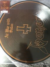 """VENOM AT WAR WITH SATAN 12 """" PICTURE DISC RSD 2017 RECORD STORE DAY"""