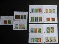 Sales cards stock breakdown, PORTUGAL MNH 1953-75 era,unverified,check them out!