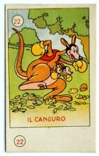 Figurina Anni 1930 Elah/Disney - N°22 Il Canguro (Premio Topolino)