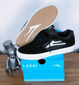Lakai Footwear Skate Schuhe Shoes Tony Hawk Proto Vulc Black Suede 8,5/42