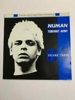 Gary Numan/Tubeway Army 1978/1979 Vol 3 Vinyl LP 85' UK Blue *VG+*