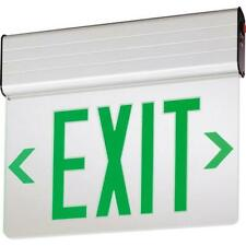 Lithonia Lighting Edg1gelm6 Emergency Exit Sign Green Letters New