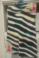 Rare & Unique BILLABONG tube Dress FLORAL size 14 ELASTIC BEACH SUMMER dress