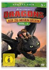 DVD * DRAGONS - AUF ZU NEUEN UFERN - STAFFEL 4 - VOL. 1 # NEU OVP +