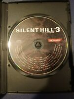 NO GAME Silent Hill 3 Sony PlayStation 2 (PS2) OFFICIAL SOUNDTRACK