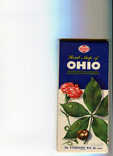 1950s Sohio OHIO Vintage Road Map (Edition 33B)