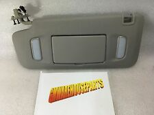2017 ENCLAVE TRAVERSE ACADIA GRAY DRIVERS SUNVISOR NEW GM #  23234424