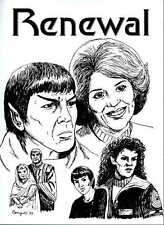 "Star Trek Fanzine -- ""Renewal"" -- TOS Novel"