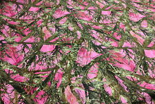 "500D COATED WATERPROOF CORDURA HUNTING 60"" CAMO FABRIC TRUE TIMBER PINK MC2 DWR"