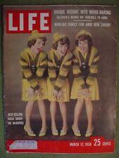 LIFE MAGAZINE MARCH 17 1958 MCGUIRES BIG SANDY KENTUCKY