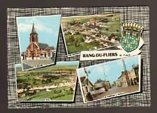 RANG-du-FLIERS 62: PASSAGE à NIVEAU, CAP D'AIL & EGLISE