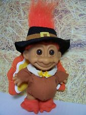 "THANKSGIVING TURKEY - 5"" Russ Troll Doll - NEW IN ORIGINAL WRAPPER"