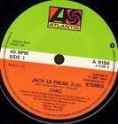 """CHIC jack le freak/savoir faire A 9198 uk atlantic 1987 7"""" WS EX/"""