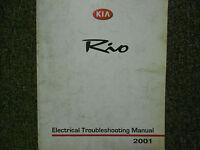 2001 KIA Rio Electrical Troubleshooting Service Repair Shop Manual Factory OEM