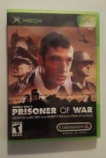 Prisoner of War (Microsoft Xbox, 2002) Complete w/ Game, Case, & Manual CIB