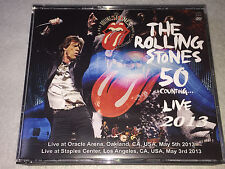 The Rolling Stones - 50 Counting...  Live 2013 CA USA 4xCD+2DVD MB-4