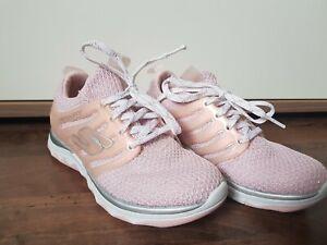 Skechers 27,5 rosa Glitzer Air Cooled Memory Foam