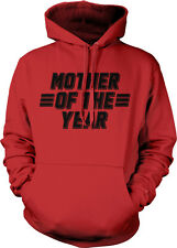 Mother Of The Year Lines Mom Day Mommy Ma Greatest In World My Hoodie Sweatshirt
