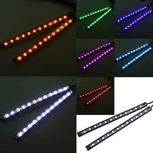 Universal 12 LED Car Auto SUV Accessories Floor Decorative Atmosphere Lamp Light