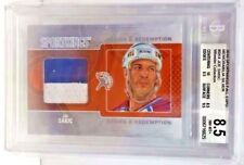 Joe Sakic 2010 SportKings Fall Expo 2 color GU Patch #'d 6/9 BGS 8.5 - AVALANCHE