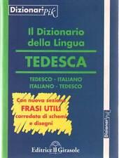 Dizionario PIK tedesco-italiano, italiano-tedesco. Con frasi schemi e disegni