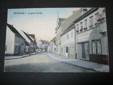 AK Annaburg Torgauer Straße Lkr. Wittenberg nach Leipzig Knautkleeberg