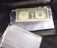 Lighthouse Currency Album Binder Modern Banknote + 30 Semi Rigid Topload Holder