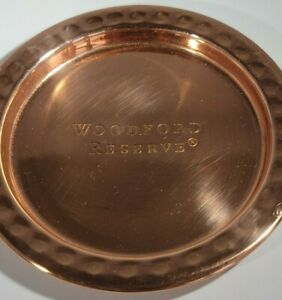 Copper Coaster Woodford Reserve Whiskey Set of 4 New in Box- Bar Mancave