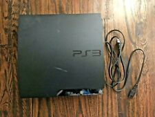 Sony PlayStation 3 Slim 120 GB Charcoal Black Console (CECH-2001A)
