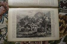 1881 neue Welt 15 Karl Jauslin Georg Christian Dieffenbach Hanf St Gotthardpass