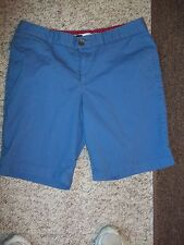 DOCKERS BOY'S SIZE 8 SHORTS BLUE LOW RISE/ SLIGHTY CURVY SHORT PANTS