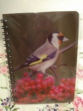 Gold Finch Spiral Notebook