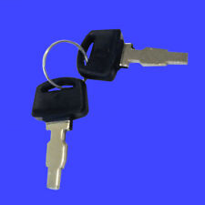 2 Lifan Ignition Switch Keys for Equipsource Gas Engine Generator Electric Start