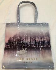 GENUINE Ted Baker Large Glitter Swan Tote Bag **BNWOT - NEVER USED** WIPEABLE