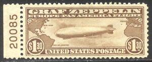 U.S. #C14 Mint - 1930 $1.30 Graf Zeppelin ($360)