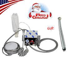 Usa Portable Dental Turbine Unit Compressor High Speed Handpiece Push 3w 4h