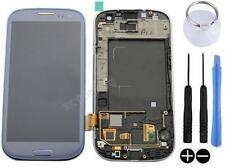 ECRAN LCD + VITRE TACTILE SUR CHASSIS POUR SAMSUNG GALAXY S3 4G i9305 LTE BLEU