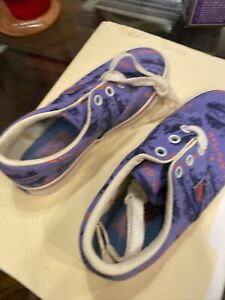 Keds Youth Girl's Purple Neon Keds Shoes Sneakers Size 12 M