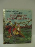 Little Golden Book Mrs. Brisby and the Magic Stone